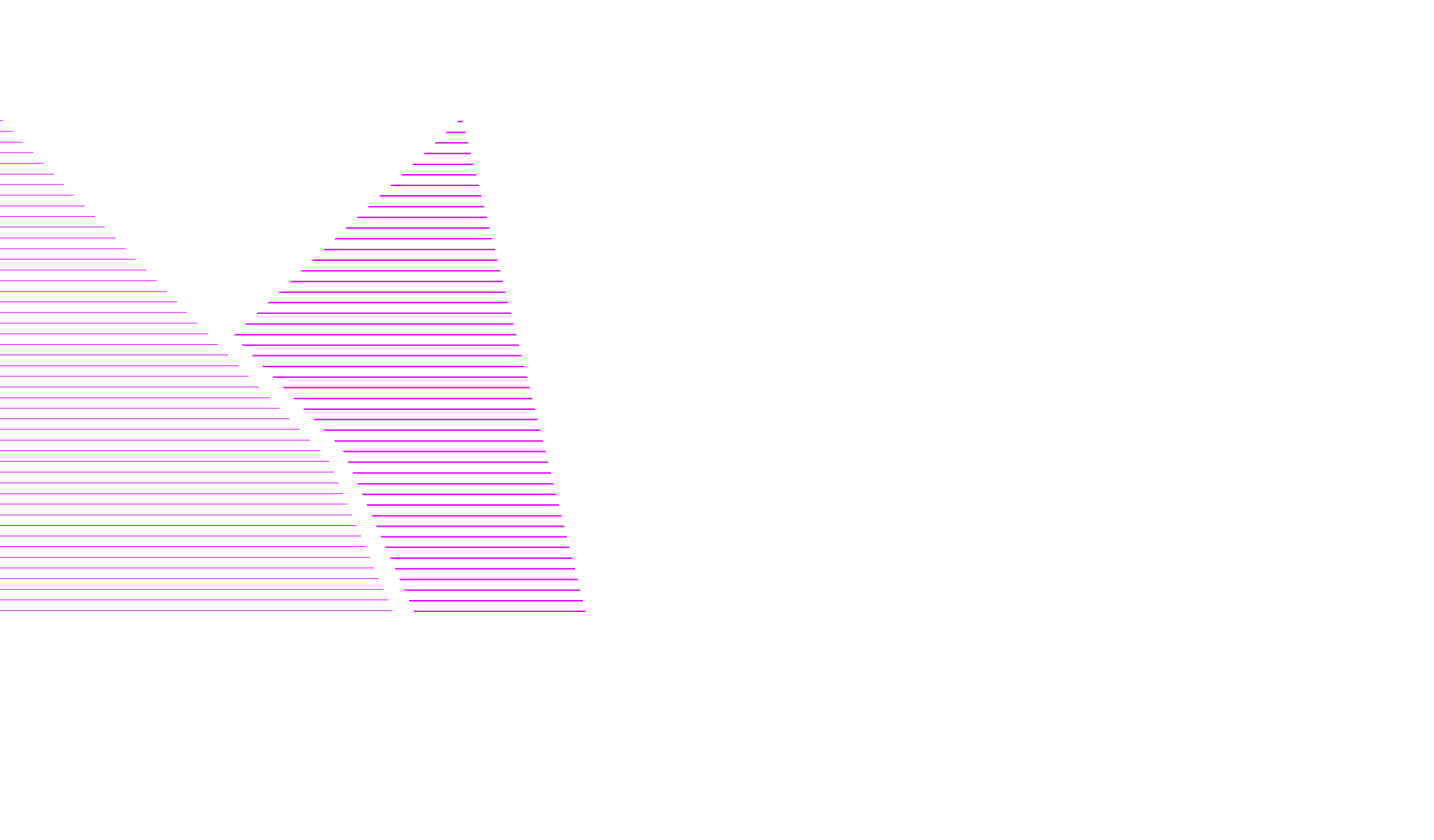 Montel logo in purple linear hatching